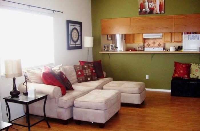 Living room in 109 18th St