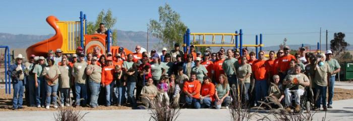 Build Day Group Picture