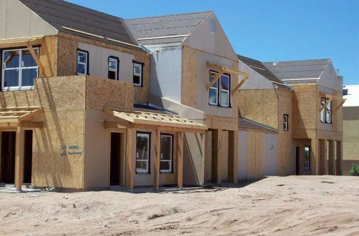 Townhome construction